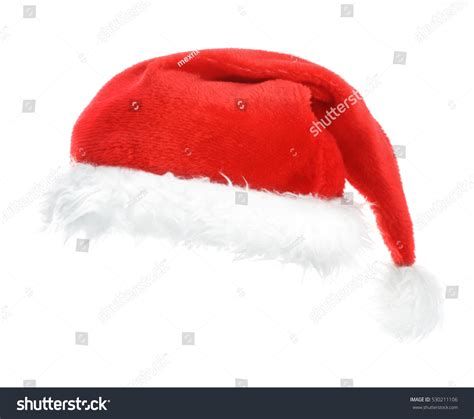 santa red hat on white stock photo 530211106 shutterstock