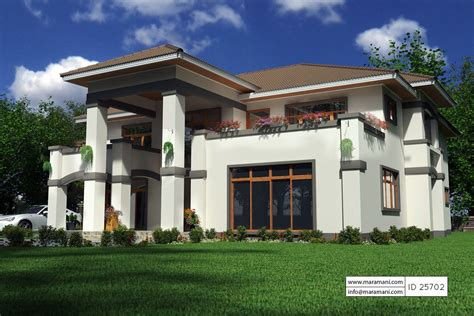 five bedroom houses 5 bedroom bungalow house plan 25702 floor plans by