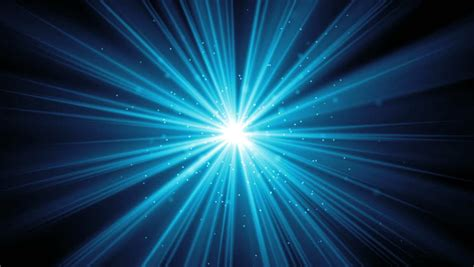 light center blue light warp loop background stock footage