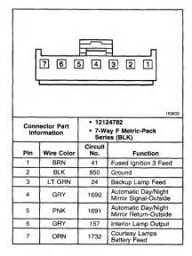 donnelly mirror wiring diagram get free image about