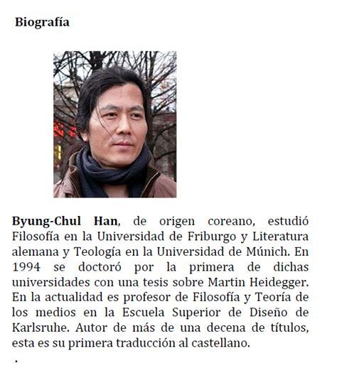 libro sociedad del cansancio la literatura y psicoan 225 lisis un exceso de positividad la sociedad del cansancio de byung chul han