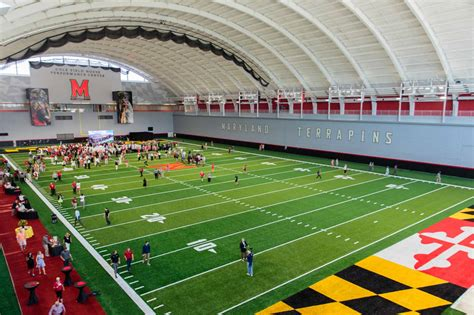 Mba Orientation Athletic Maryland by Umd Unveils Cole Field House S Newly Renovated Practice