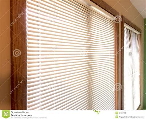 Wood Mini Blinds Mini Blinds 2 Wood Window Frames Stock Photo Image 51800100
