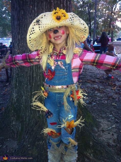 scarecrow homemade halloween costume