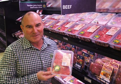 Supermarket Hamburger butcher s instinct never far away for woolies of