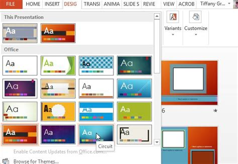 powerpoint 2010 different themes for different slides free video scrapbook powerpoint template