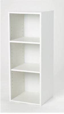 Closetmaid Solid Shelving Closetmaid Stackable Storage Organizer White Laminated