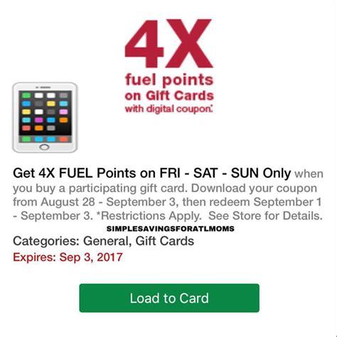 Starbucks Card Us Set 4 Kartu Mix No 2 Ornaments kroger gift cards 4x fuel points september gift ftempo