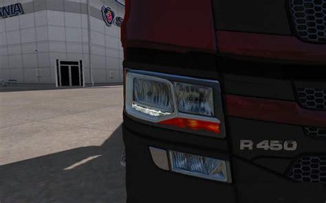 clear scania nextgen lights  tuning mod ets mod