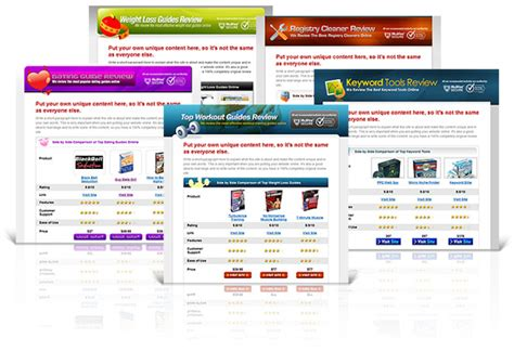 Affiliate Templates 10 premium affiliate review website templates