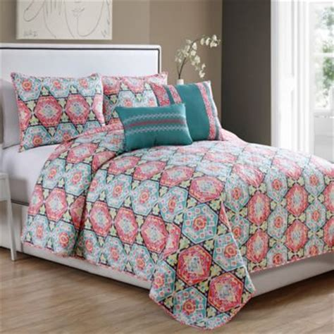 teal and coral bedding buy teal bedding sets from bed bath beyond