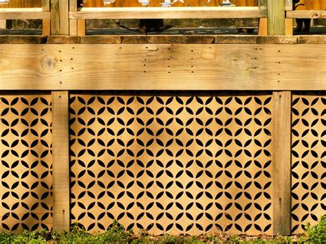 Wood Bathroom Ideas by Mid Century Modern Lattice From Acurio Latticeworks