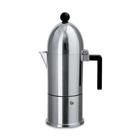 la cupola caffettiera espresso la cupola da 3 tazze alessi