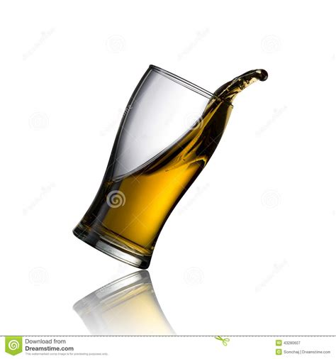 glass spilling cold beer spill stock image image of foam black bubbles