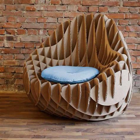 Cardboard Chair Designs by Mc 205 Cardboard Armchair By Nordwerk Recyclingdesign