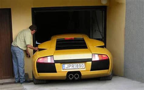 kleine garage die garage zu klein oder das auto zu gross autofahrer ch