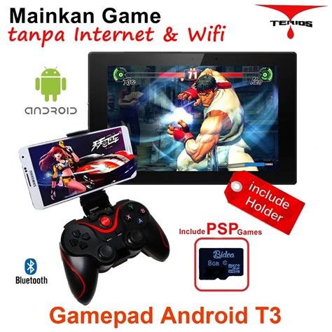 Bluetooth Gamepad Android T3 8gb Psp Sd Card 8gg02 Jual Beli Gamepad Holder 8g Psp Bluetooth Android Vr