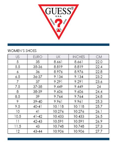 shoe size chart guess women guess delilan slingback wedges sizes 6 10 black