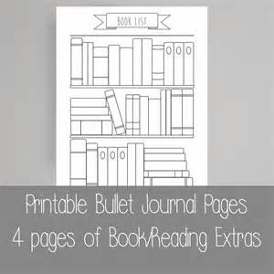 extra bullet journal pages book reading a5 by scatteredpapers1
