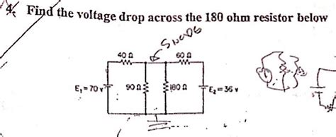 voltage drop across 5 ohm resistor electrical engineering archive december 02 2013 chegg