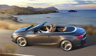 Opel Cascada Price Opel Cascada Mid Size Convertible Revealed Photos 1 Of 10