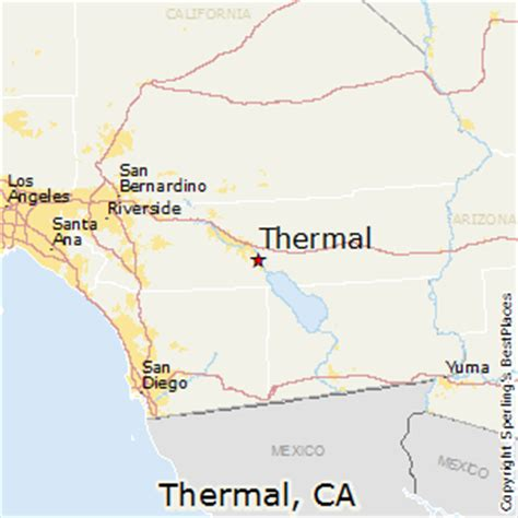 california map la quinta comparison thermal california la quinta california