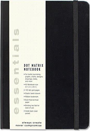 Essentials Dot Matrix Notebook A5 Size Bullet Journal