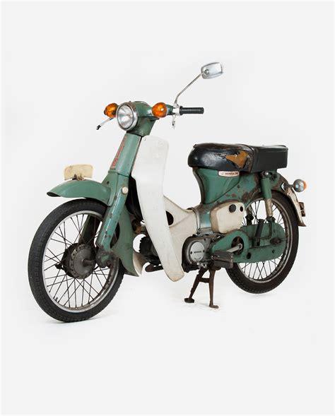Lu Senja Honda C50 C70 C90 honda c50 green 183 fourstrokebarn