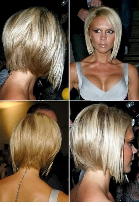 haircut short stacked angled front and back views stacked bob hairstyles front back angled bob hairstyles