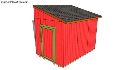 lean  shed plans   garden plans   build