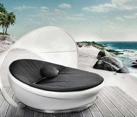 5 light up outdoor furniture sets glow white at night
