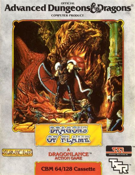 Advanced Dungeons Dragons Dragons Of by Advanced Dungeons Dragons Dragons Of Commodore 64