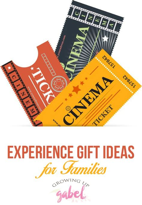 experience gift ideas for the whole family