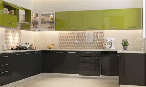 Installation Of Kitchen Cabinets buy romaine u shape modular kitchen online in india