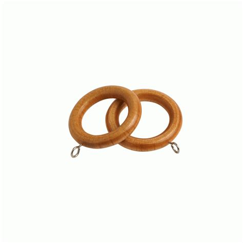 pine curtain rings county antique pine 28mm curtain rings