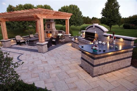 backyard designs with pool and outdoor kitchen kitchen incredible outdoor kitchen ideas extra charming