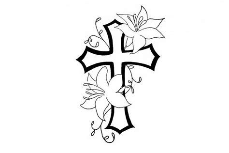cool tattoo designs to draw cool simple flower designs to draw clipart best