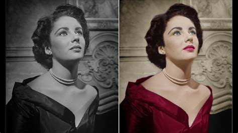 how to add color to a black and white photo how to colorize a black and white photo in photoshop