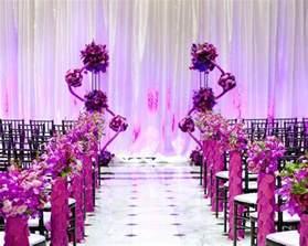 wedding ceremony decorations gorgeous wedding ceremonies the magazine