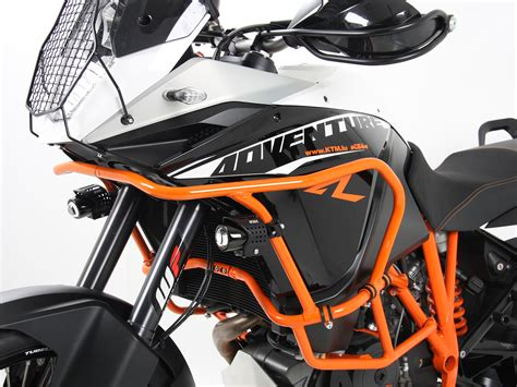 tank guard orange ktm   adventure