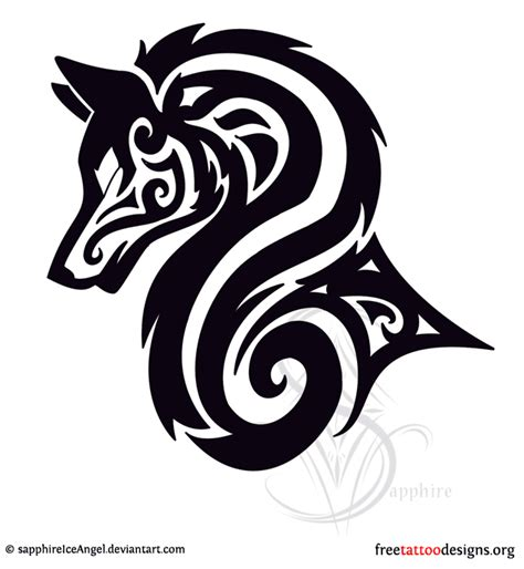 tribal wolf tattoos meaning wolf tattoos