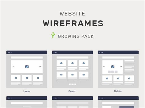 ultimate website wireframe mockups