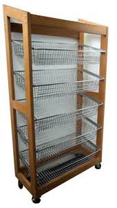 Second Hand Cabinets Wooden Display Rack Sloping Carlyle Engineering