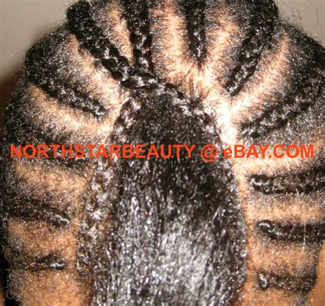 easy braid pattern for sew in with leave out hairapy custom wigs and hair extensions lagos nigeria