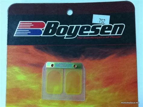 Membran Boyesen Rx Z racing parts archives motomalaya