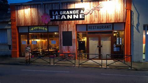 La Grange Vendee by Restaurant Quot La Grange 192 Jeanne Quot Restaurants Fontenay Le