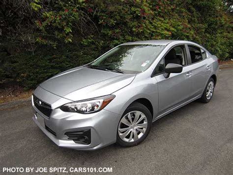 2017 subaru impreza sedan silver 2017 subaru impreza 4 door sedan exterior photos page