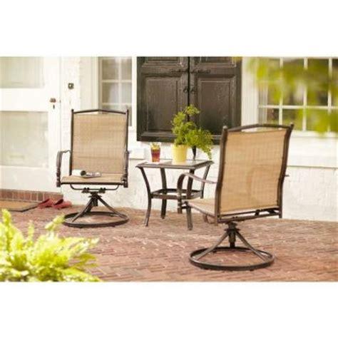 hton bay altamira 3 patio bistro set