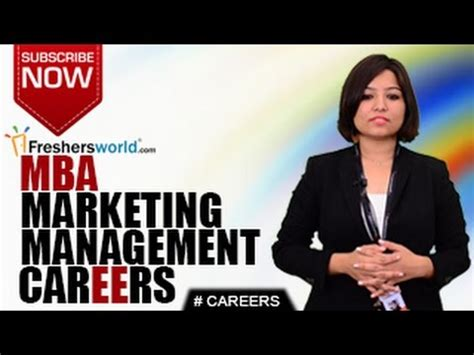Mba Marketing Management by Careers In Marketing Management Bbm Mba Research Analyst