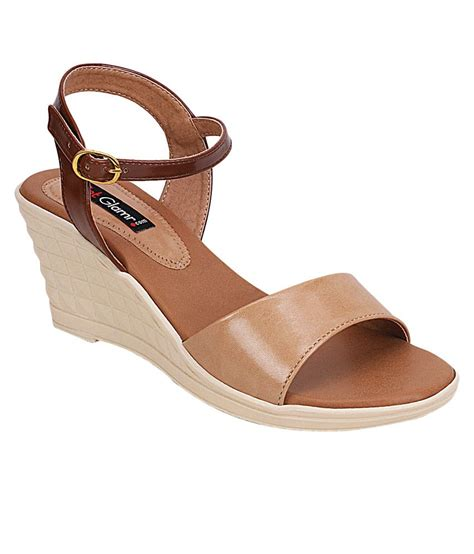 Promo Wedges No1 Terjangkau get glamr beige wedges heels price in india buy get glamr beige wedges heels at snapdeal